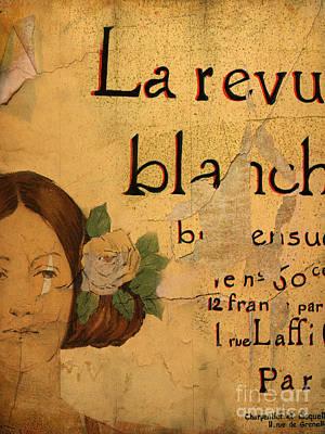 Vintage Ad Digital Art - La Revue by Cinema Photography