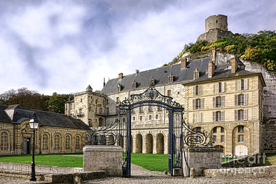La Roche Guyon Castle Art Print