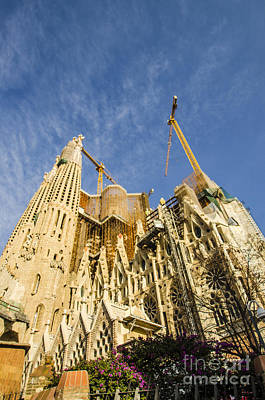 Photograph - La Sagrada Familia A Work In Progress by Deborah Smolinske