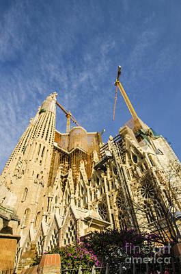 Photograph - La Sagrada Familia A Work In Progress by Deborah Smolinske