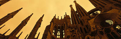 Masonry Photograph - La Sagrada Familia Barcelona Spain by Panoramic Images