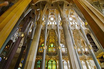 Wall Art - Photograph - La Sagrada Familia Iv by Jack Daulton