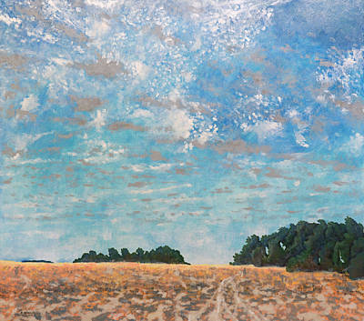 Painting - La Salles Prairie by Kerry Beverly