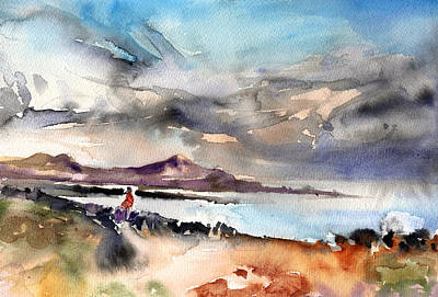 Painting - La Santa In Lanzarote 02 by Miki De Goodaboom