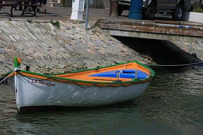Photograph -  Boat   La Sardine  by Phoenix De Vries