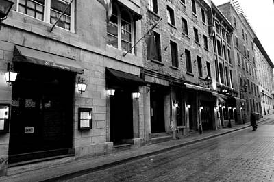 Montreal Restaurants Photograph - La Sauvagine On Rue Saint-paul In Old Montreal by Jiayin Ma
