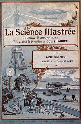La Science Illustree Front Cover Print by Universal History Archive/uig