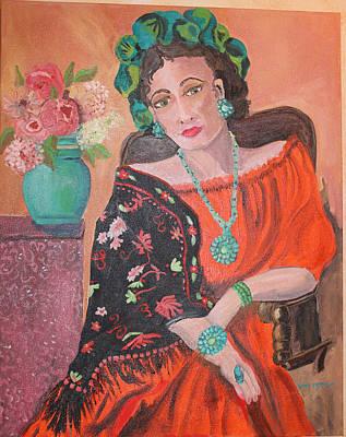 Painting - La Senora De La Casa by Dody Rogers