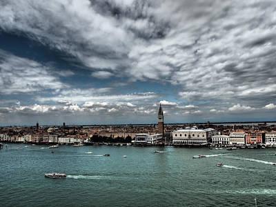 Venice Photograph - La Serenissima by Giorgio Lumaconi