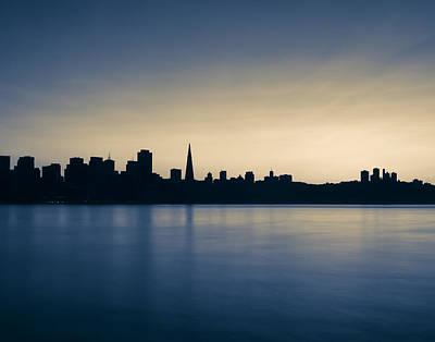 Photograph - La Silhouette De La Ville by Denise Cottin