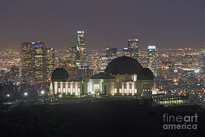 Photograph - L.a. Skyline by David Zanzinger