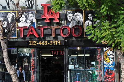 Photograph - La Tattoo by Joe  Burns