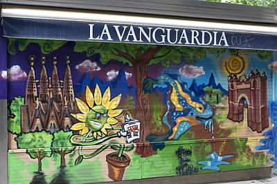 Photograph - La Vanguardia In Color by Lorraine Devon Wilke