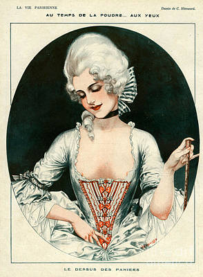 Nineteen-tens Drawing - La Vie Parisienne 1919 1910s France C by The Advertising Archives