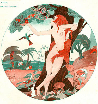 La Vie Parisienne 1920s France Cc Edam Print by The Advertising Archives