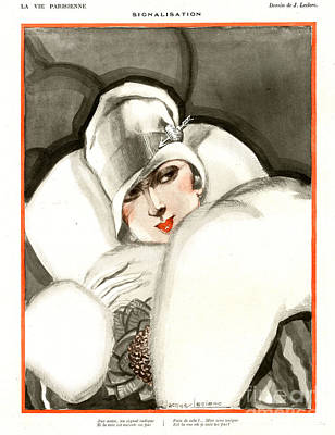 Drawing - La Vie Parisienne 1920s France J by The Advertising Archives