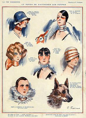 La Vie Parisienne 1924 1850s France F Art Print by The Advertising Archives