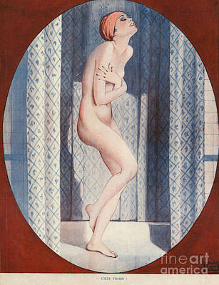 Drawing - La Vie Parisienne 1926 1920s France by The Advertising Archives