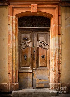 Provence Photograph - La Vieille Porte by Inge Johnsson