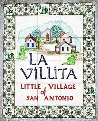 Digital Art - La Villita Tile Sign On The Riverwalk San Antonio Texas Colored Pencil Digital Art by Shawn O'Brien