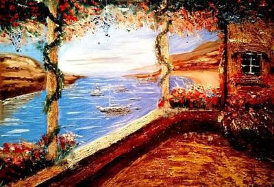 Sicily Painting - La Vita Bella by Nicolo Filippazzo