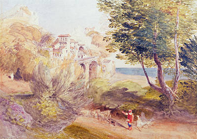 La Vocatella Art Print by Samuel Palmer