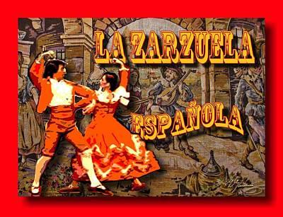 Digital Art - La Zarzuela Espanola by Dean Gleisberg