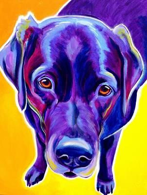 Labrador Retriever Painting - Lab - Messier by Alicia VanNoy Call