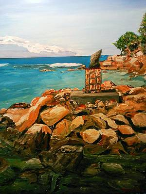 Painting - Labadee Resort by Ray Khalife