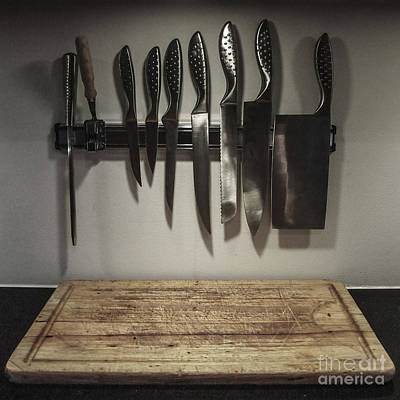 Photograph - L'abbatoire Dans La Cuisine by Michael Canning