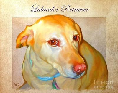 Buy Dog Art Digital Art - Labrador Art by Iain McDonald