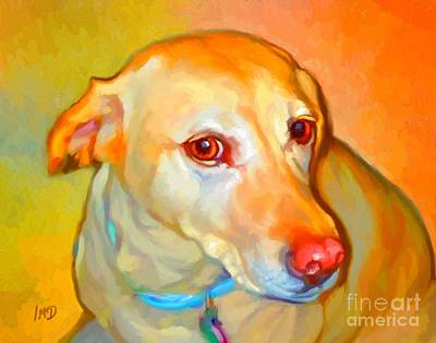 Labrador Painting Art Print by Iain McDonald