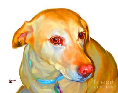 Labrador Retriever Art Art Print by Iain McDonald