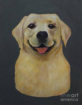 Labrador Retreiver Painting - Labrador Retriever Portrait by Michael Hart