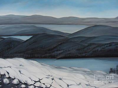 Labrador The Big Land Original by Beverly Livingstone