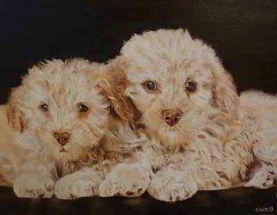 Painting - Labradorable by Cherise Foster