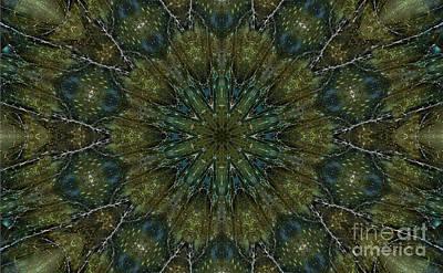 Labradorite -3- Mandala Art Print