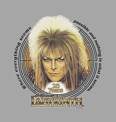 Goblin Digital Art - Labyrinth - 25 Years by Brand A