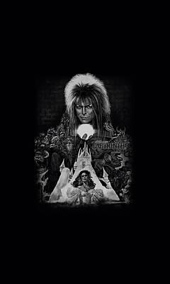 Goblin Digital Art - Labyrinth - Castle by Brand A