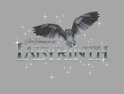 Goblin Digital Art - Labyrinth - Owl Logo by Brand A