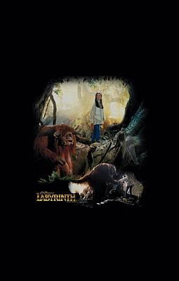 Goblin Digital Art - Labyrinth - Sarah And Ludo by Brand A