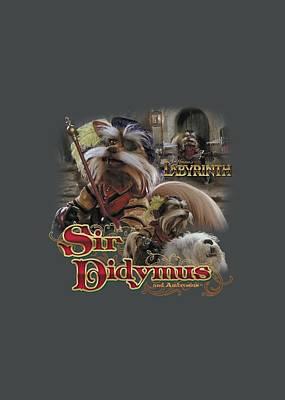 Goblin Digital Art - Labyrinth - Sir Didymus by Brand A