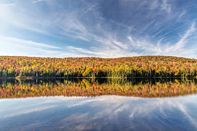 Photograph - Lac Bouchard On A Calm Autumn Day by Pierre Leclerc Photography