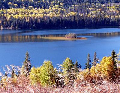 Photograph - Lac Des Roches In Autumn by Will Borden