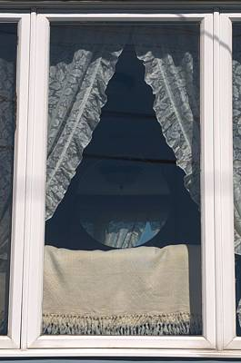 Photograph - Lace Curtain 1 by Douglas Pike