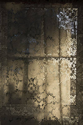 Lace Curtain 1 Art Print by Jocelyn Friis