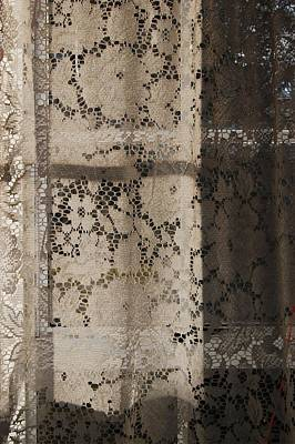 Lace Curtain 2 Art Print by Jocelyn Friis