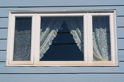 Photograph - Lace Curtains 2 by Douglas Pike