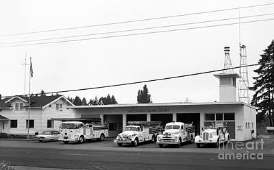 Photograph - Lacey Fire Dept. by Merle Junk