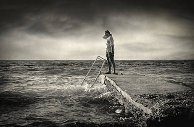 Thought Wild Photograph - Lack 17.51 by Taylan Apukovska